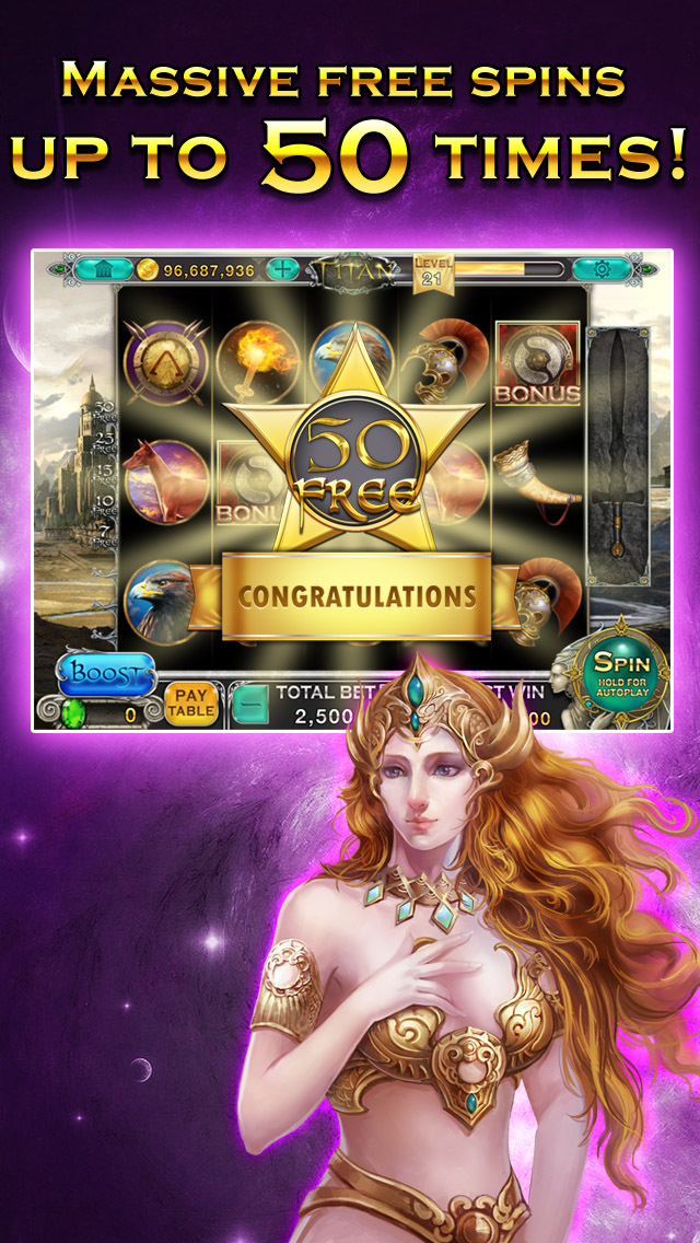 Slots - Titan's Way screenshot 4