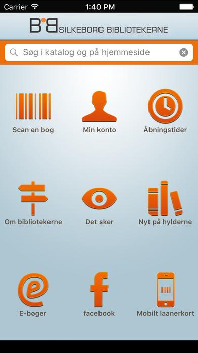 Silkeborg Bibliotekerne iPhone Screenshot 1