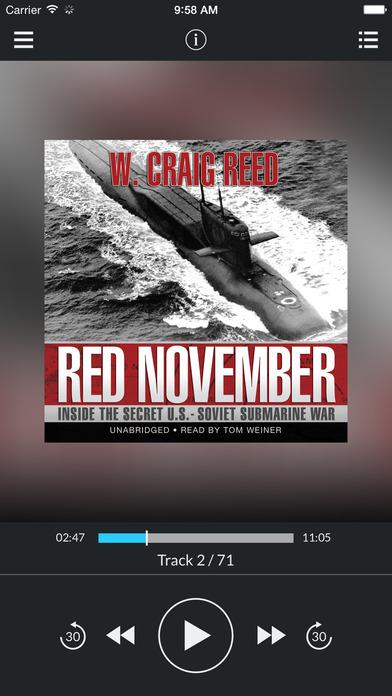 Red November (by W. Craig Reed) iPhone Screenshot 1