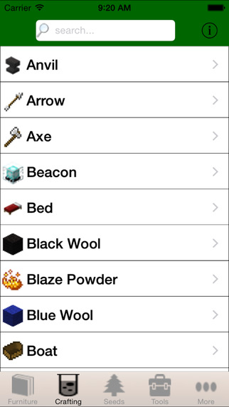 Guide for Minecraft - Furniture, Seeds, Skins, Crafting and More for Minecraft Screenshots