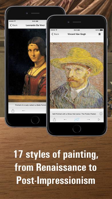Portrait painting HD 앱스토어 스크린샷