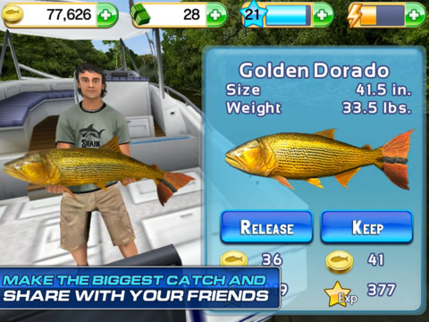 Fishing Kings Free+ screenshot