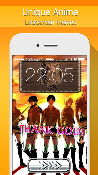Lock Screen Designer Manga Anime Wallpapers For Attack on Titan Themes