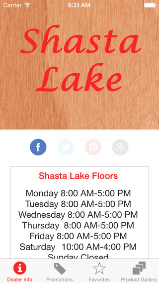 Shasta Lake Floors by MohawkDWS