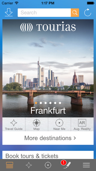 Frankfurt Travel Guide - TOURIAS Travel Guide free offline maps