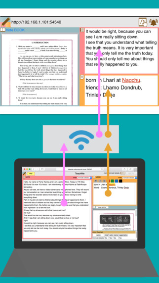 TeachMe from PC with WiFi