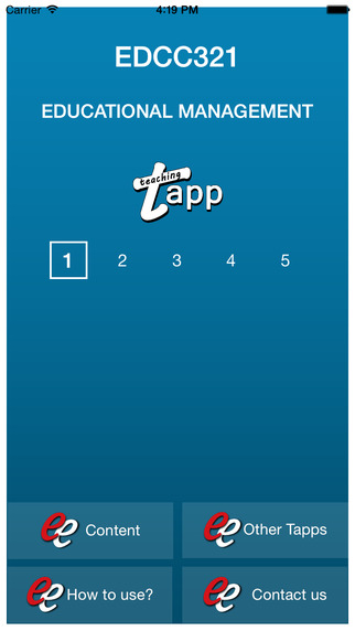 TAPP EDCC321 ENG3