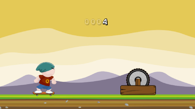Dan Jumps - FREE Skateboard Game