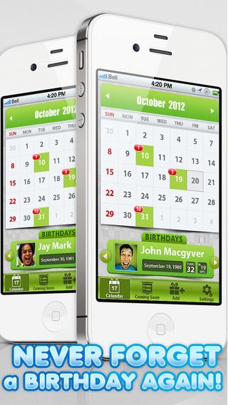 Birthday Calendar Pro - Anniversary Reminders