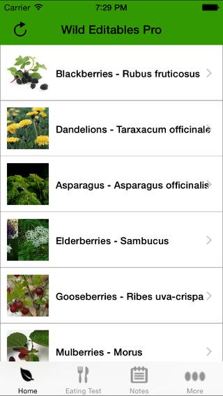 【免費娛樂App】Wild Edibles Pro-APP點子