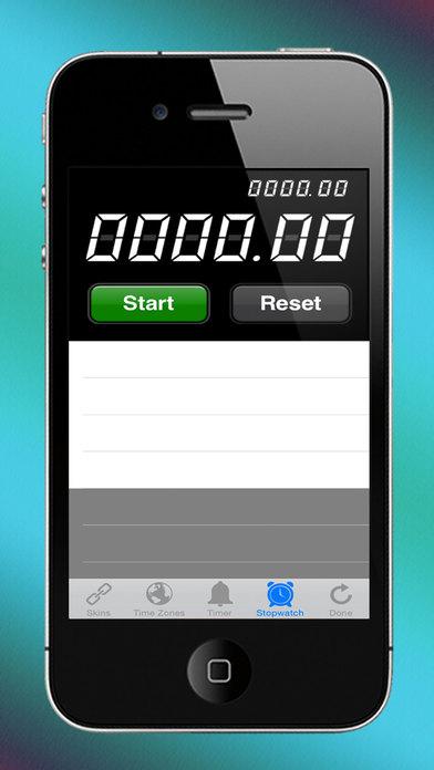 Deci Clock iPhone Screenshot 3
