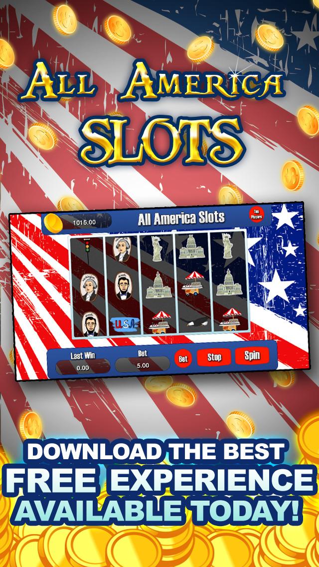 AAA All America Slots Machine - FREE Slots Eagle Wild Way