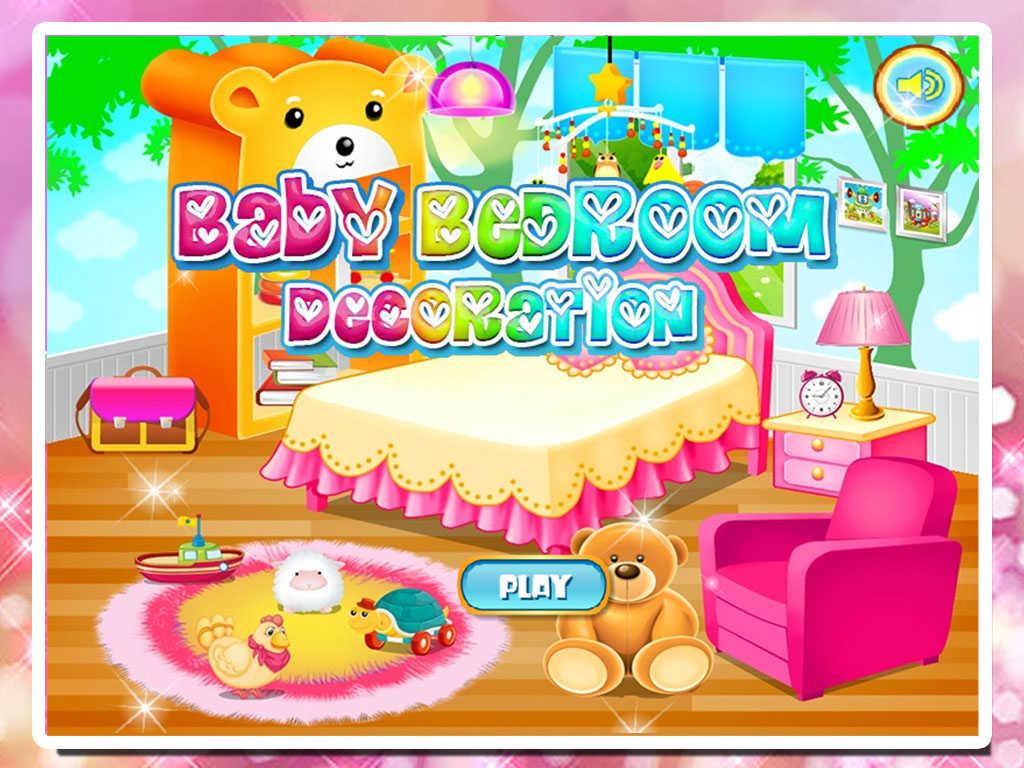 App shopper baby bedroom decoration games for Baby decoration games