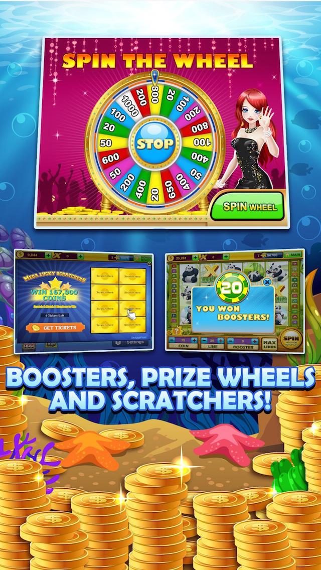 Scatter symbols slot machines