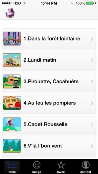Chansons enfantines françaises