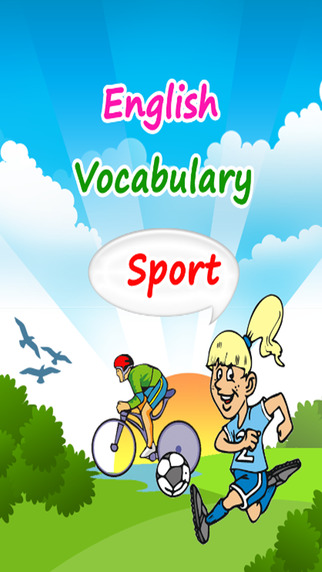 Learn English Free : Vocabulary Words Language learning games for kids speak spell about sport