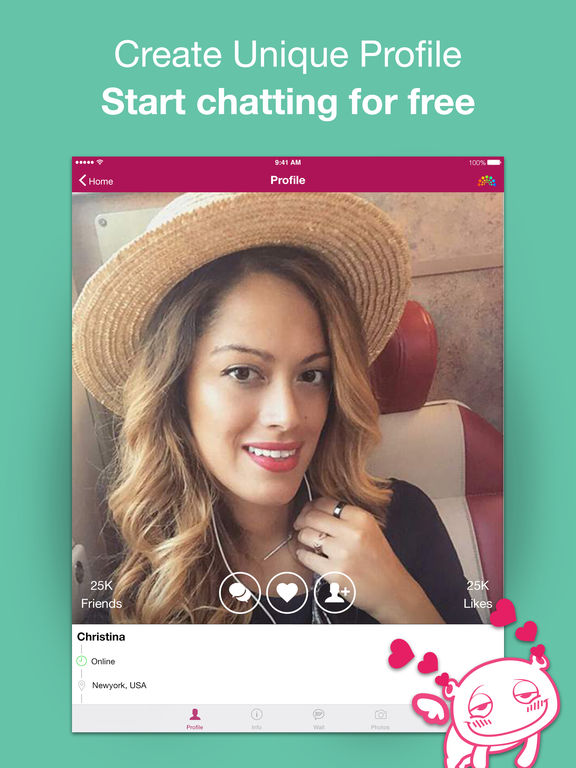 Waplog chat dating meet friend app for iphone