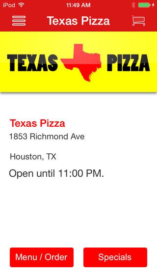 Texas Pizza