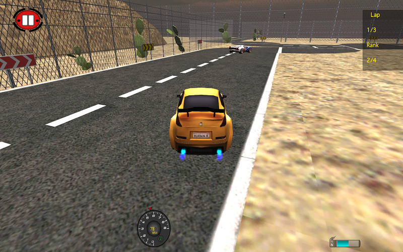 Speed Car Fighter 3D 2015 Screenshot - 5