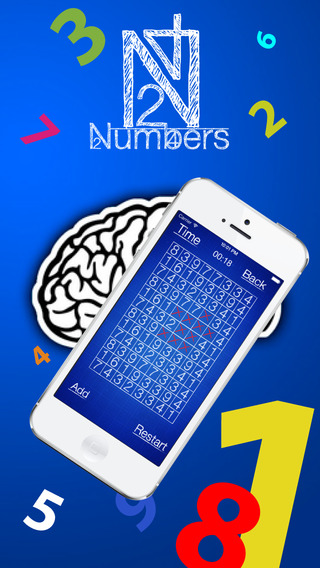 Numbers puzzle - School game