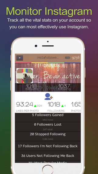 IFplus Stats for Instagram. Followers - Unfollowers - Analytics -