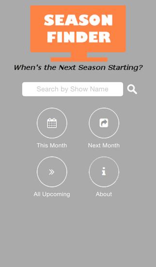 Season Finder