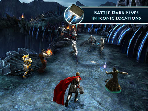 Screenshots of Thor: The Dark World - The Official Game for iPad