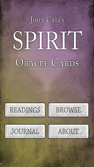 John Cali's Spirit Oracle Cards Lite