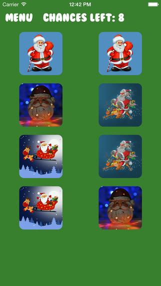Santa Claus Memory Puzzle