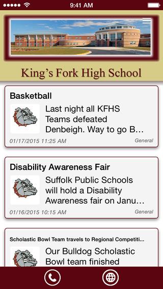 King's Fork High School