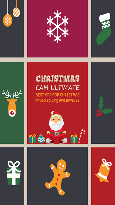 Christmas Cam Ultimate - Best App For Christmas Photo Editing And Effects-0