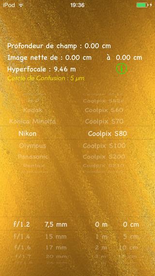CalcHyperfocale