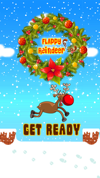 Flappy Christmas Reindeer