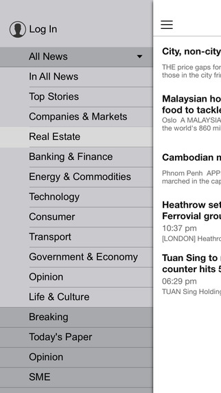 Business Times for iPhone