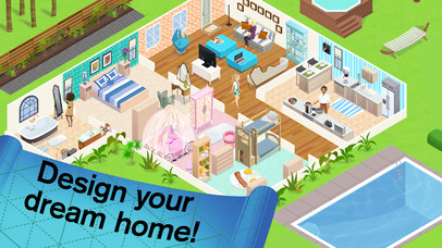 Screenshots of Home Design Story for iPhone