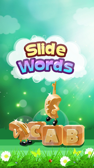 Slide Words: Puzzle game