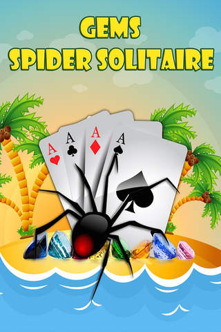 Gems Spider Solitaire screenshot 1