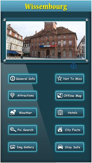 Wissembourg Offline Map Travel Explorer