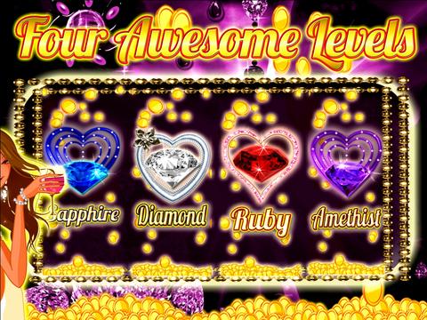AAA Aattractive Diamond Jewery Jackpot Money, Glamour and Coin$
