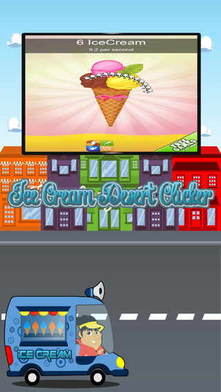 Ice Cream Dessert Clicker