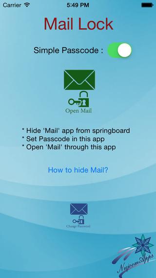 E-Mail Lock