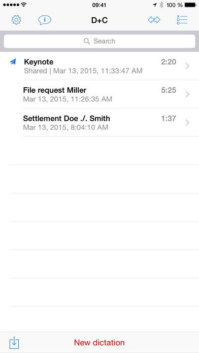Dictamus - Dictate & Send iPhone Screenshot 2