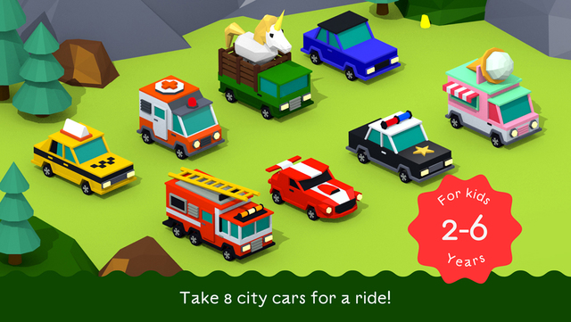 Free App of the Day - City Cars Adventures by BUBL - for Kids 2-6