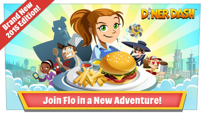 Screenshots of Diner Dash for iPhone
