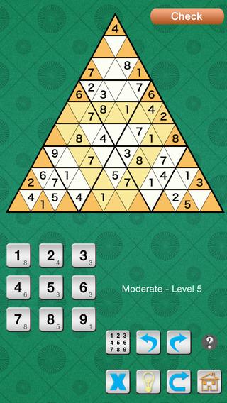 Tridoku : Triangle Sudoku Variant