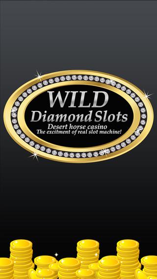 Wild Diamond Slots - Desert Horse Casino - The excitement of REAL slot machines