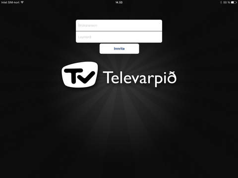 Televarpið for iPad