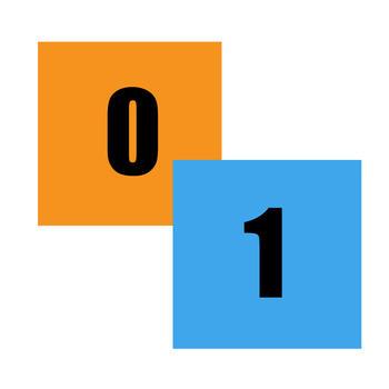 Binary Squares LOGO-APP點子