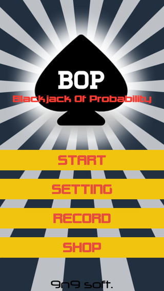 BOP : Blackjack Of Probability