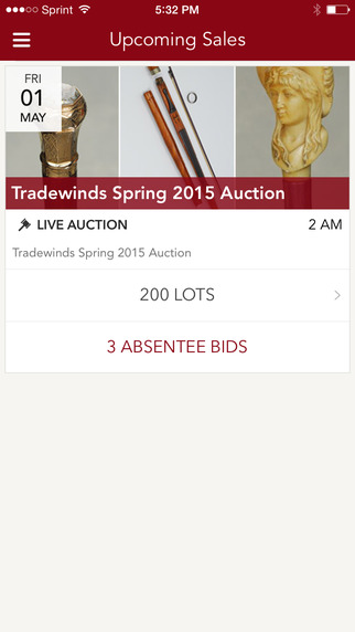 Tradewinds Antiques Auctions